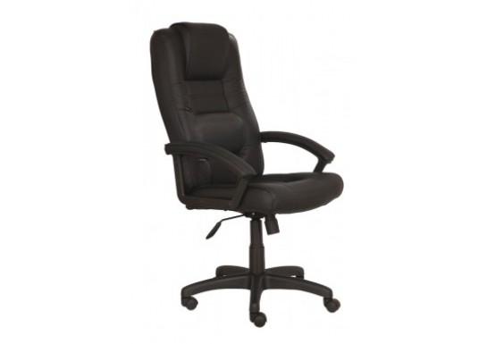 Кресло руководителя Бюрократ T-9906AXSN, кожа