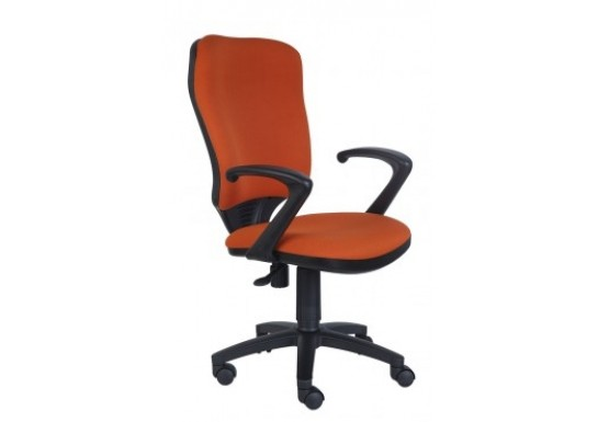 Кресло оператора Бюрократ Ch-540AXSN, цв. черный