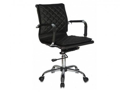 Кресло руководителя Бюрократ CH-991-Low, черный низ. спинка