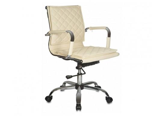 Кресло руководителя Бюрократ CH-991-Low, слоновая кость