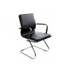 Кресло Бюрократ CH-993, низ. спинка, иск. кожа