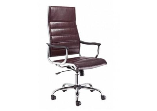 Кресло Бюрократ CH-994 Choco темно-коричневый, кожа