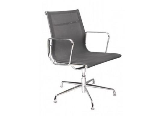 Кресло для персонала Бюрократ CH-996-Low-L black низ.спинка, сетка, хром