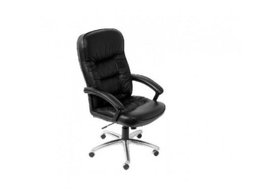 Кресло руководителя Бюрократ T-9908AXSN-AB, кожа