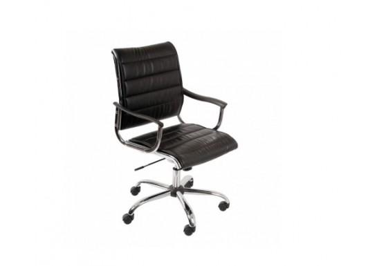 Кресло руководителя Бюрократ CH-994AXSN Red, иск. кожа