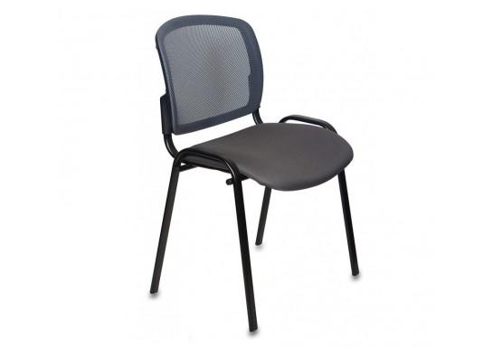 Стул Бюрократ Вики DG15-13 спинка сетка темно-серый сиденье серый 15-13