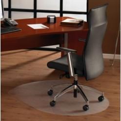 Коврик напольный Floortex 129919SR для паркета/ламината овальный 99х125 см поликарб