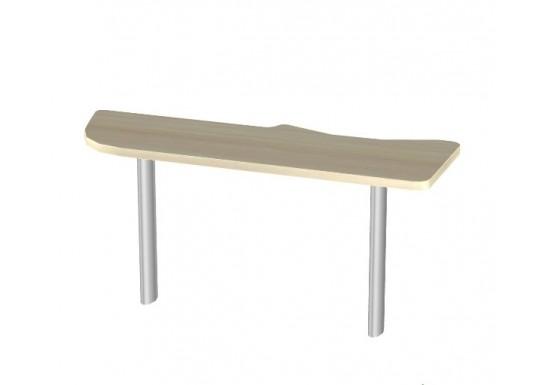Стол приставной 1570x540x750