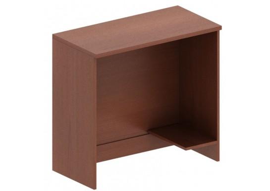 Стол для ресепшн, цв. венге, 1200x802x750 mm