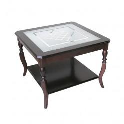 Стол  журнальный деревянный 750*750*570