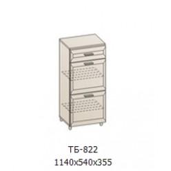 Шкаф узкий низкий 1140х540х355