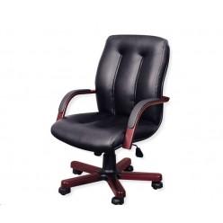 Кресло руководителя, цв. чёрный, Forum B