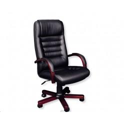 Кресло руководителя, цв. чёрный, Myra A