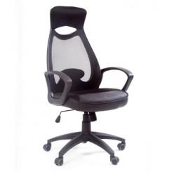 Кресло руководителя Chairman 840 пластик черное