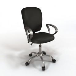 Кресло для персонала Chairman 9801 цвет серый