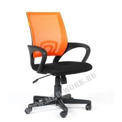 Кресло для персонала Chairman 696 цв, красный, оранжевый
