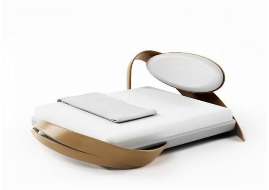 Кровать прямоугольная Бразо 160*200 с матрацем