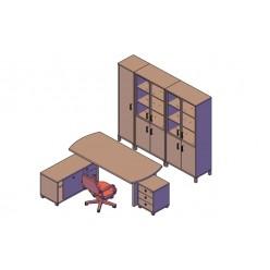 Набор кабинета для руководителя № 3