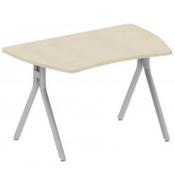 Стол, металлокаркас, цв. клён, 1200*800*744 мм