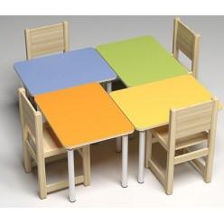 Стол 460/520/580х700х700