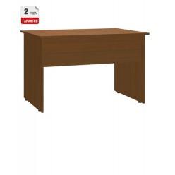 Стол письменный, цв. орех, 1400x600x740 мм
