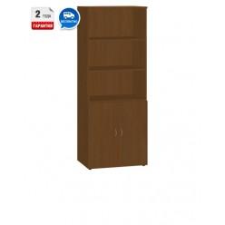Шкаф для документов, цв. орех, 1830Х720Х355