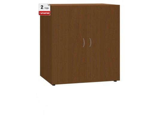 Шкаф закрытый, цв. орех, 830х800х384 мм