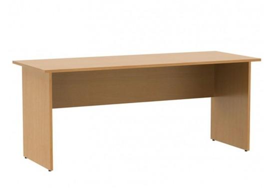 Стол письменный, цв. бук, 1800x700x750 мм