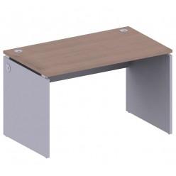 Стол письменный, цв. дуб онтарио и серый, 1200x700x740 мм