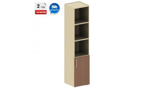 Шкаф для книг, цв. дуб венге, 1947х400х442 мм
