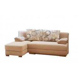 Угловой диван Лира без боковин 2100х1600x1000 мм