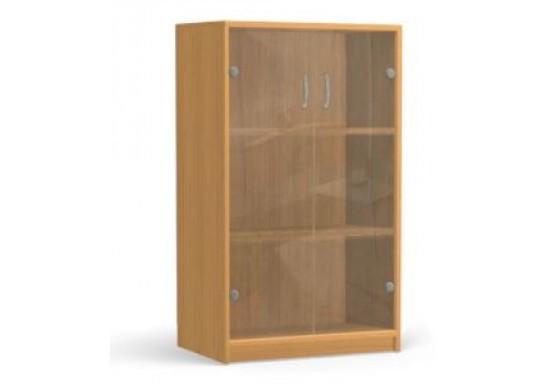 Шкаф для книжек, цв. дуб, 1179х800х430