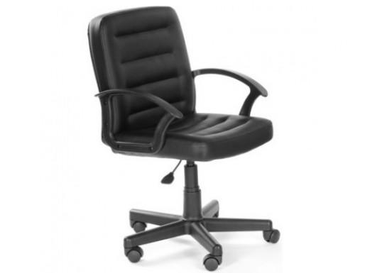 Кресло руководителя Чип 192 кожзам черный