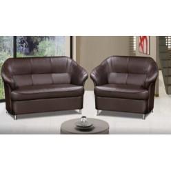Мягкая мебель MN_AW_ ERest_Bryan диван 2м PU429 т.коричн.(2PU)