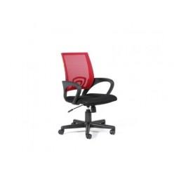 Кресло VT EChair-304 ткань черн TW11 сетка