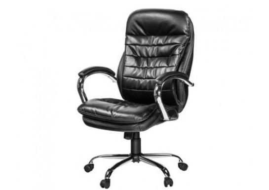 Кресло руководителя EChair-515 RT рецикл.кожа