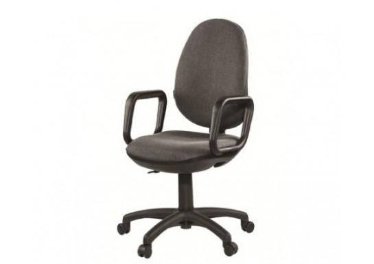 Кресло EChair EC Comfort GTP ерго, ткань серая