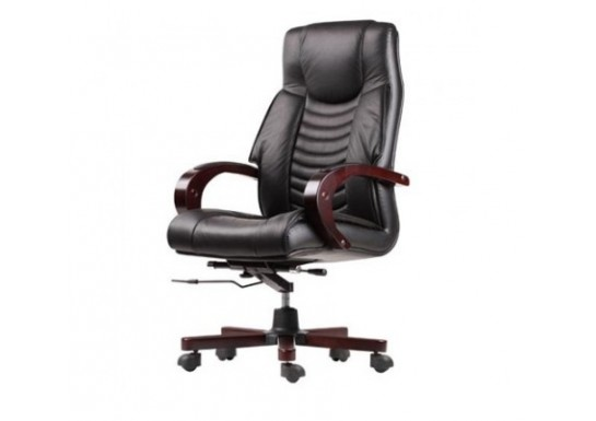 Кресло руководителя Echair-409 ML кожа