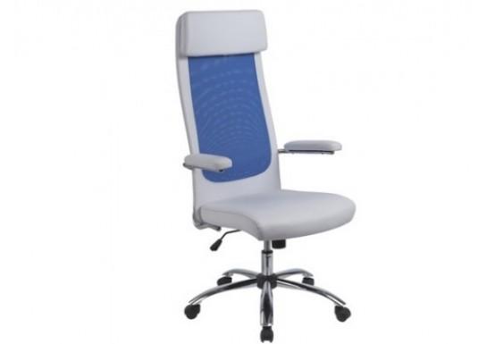 Кресло руководителя EСhair-507 TPU net к/з