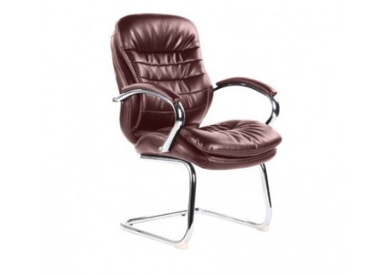 Конференц кресло Echair-515 VR рецикл. кожа