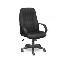 Кресло EChair-624 TTW ткань черная, пластик