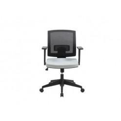 Кресло EChair MIRO-2-C ткань серая, сетка