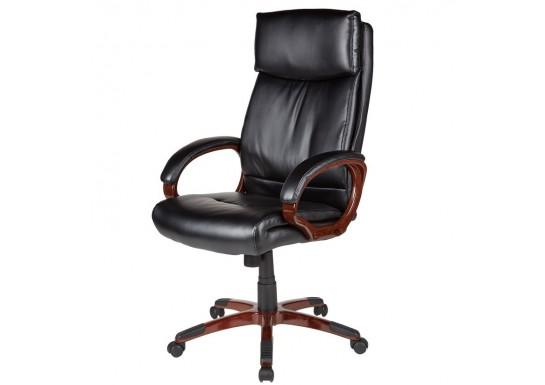 Кресло руководителя EChair-628 TR рец.кожа