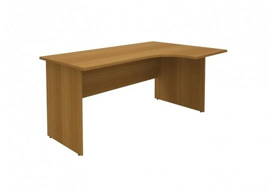 Стол-интеграл правый, цв. орех, 140×110×75