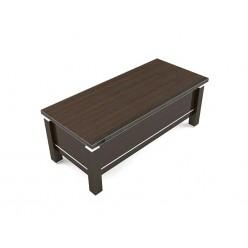 Стол руководителя, цв. венге, 180х90х75