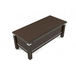 Стол руководителя, цв. венге, 200х90х75