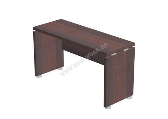 Стол приставной, цв. тёмный орех, 120x45x65