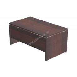 Стол руководителя, цв. тёмный орех, 1600*900*750