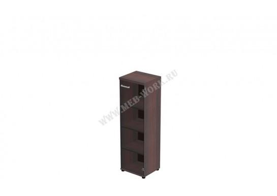 Шкаф средний, цв. тёмный орех, 45*40*148