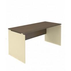 Стол прямой, цв. венге, вязь, 160*70*75